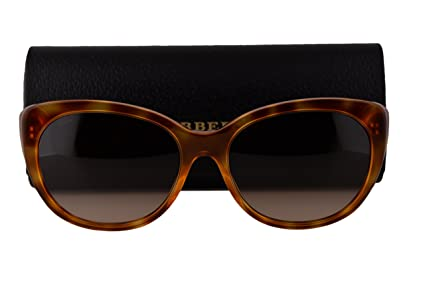 b5c5f4fc294c Image Unavailable. Image not available for. Color  Burberry BE4224 Sunglasses  Light Havana ...