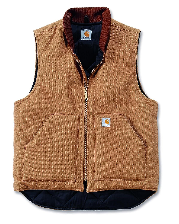 Carhartt V01 Artic Vest Quilted Bodywarmer Brown