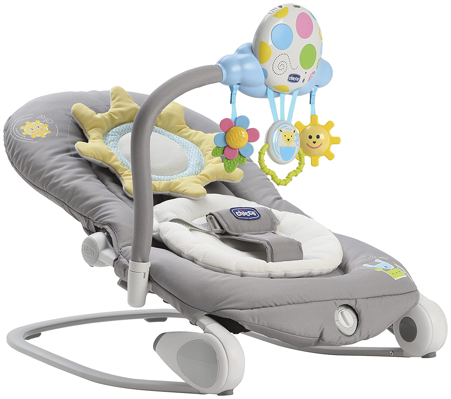 Chicco Balloon Baby Bouncer, Dark Grey ARTSANA UK LTD 05079282400930