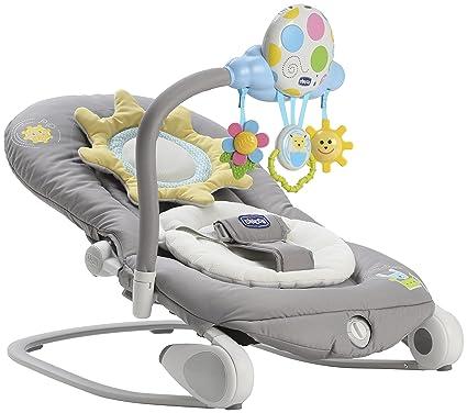 Chicco - Globo para bebé, color gris oscuro