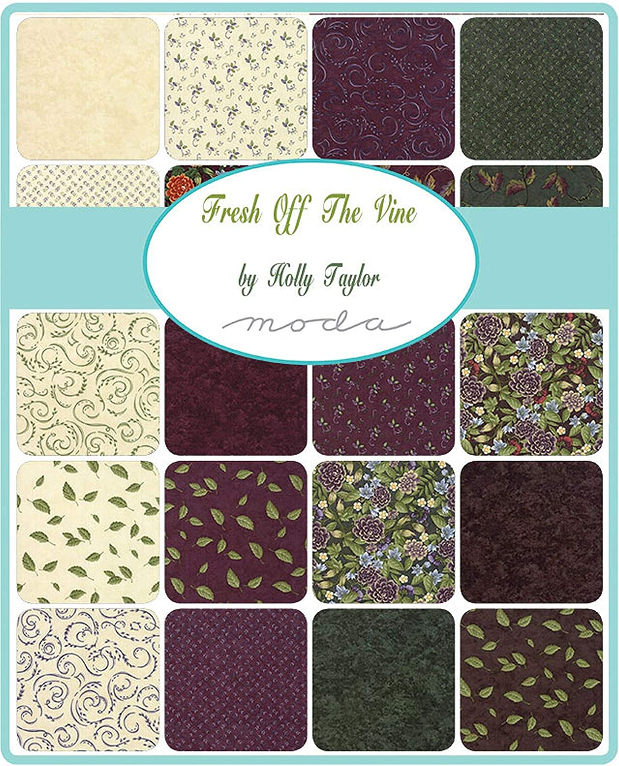 Moda Fresh Off The Vine Mini Charm Pack: Amazon.es: Amazon.es