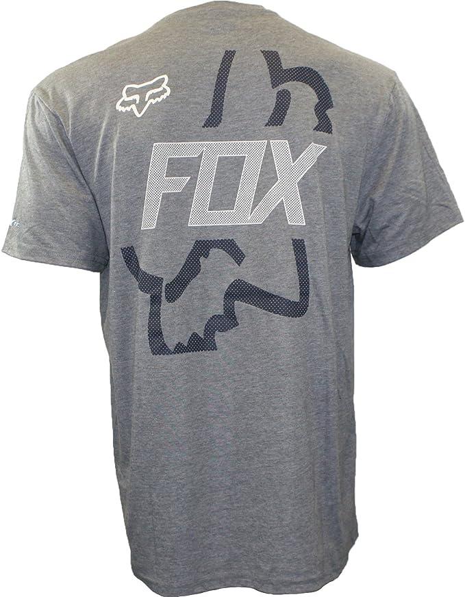 Fox – para Hombre Funda Shot Tech Camiseta: Amazon.es: Coche y moto