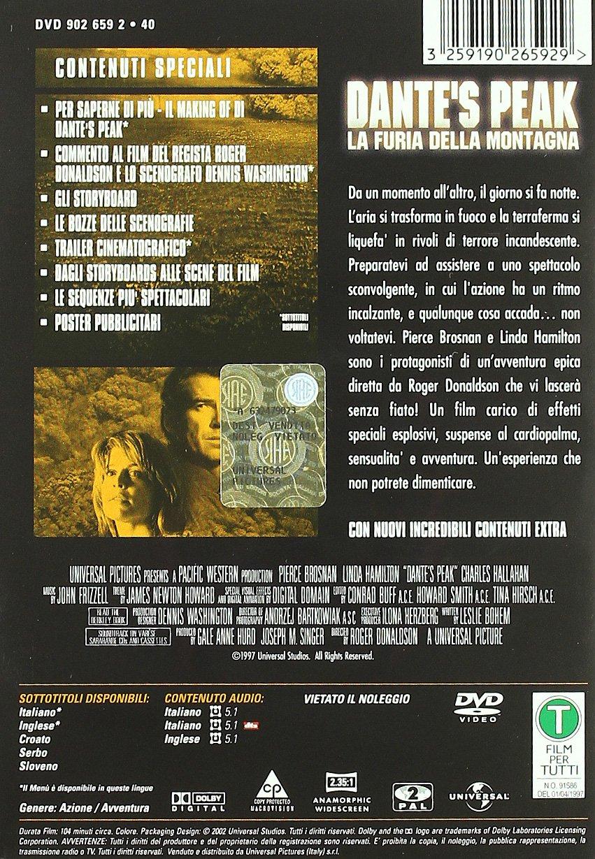 Amazon.com: DanteS Peak - La Furia Della Montagna (SE ...