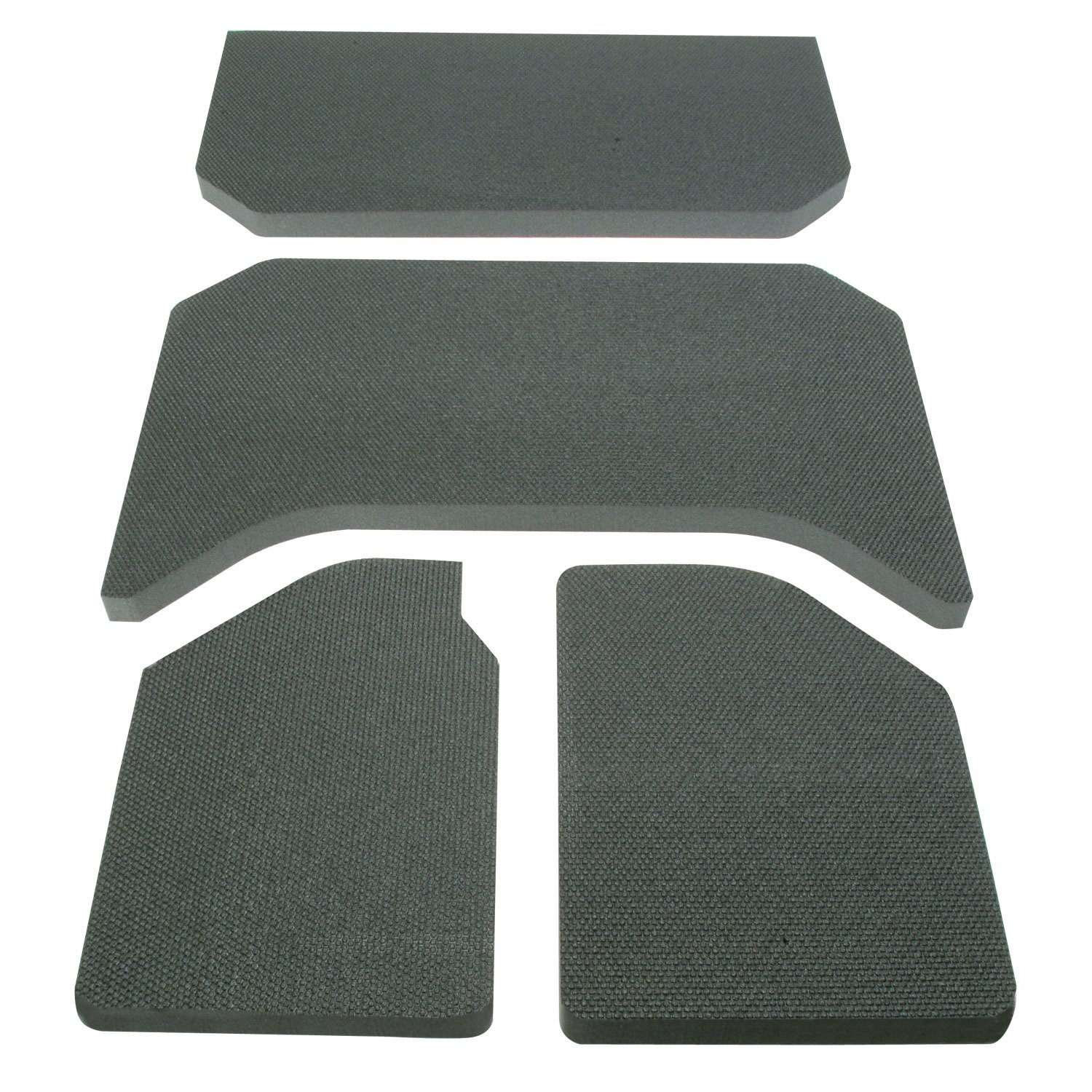 DEI 050137 Boom Mat Sound Deadening Headliner for 4-Door Jeep Wrangler (2011-2016) - Black