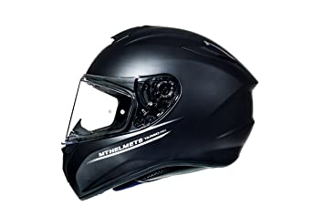 CASCO MT TARGO NEGRO MATE (L)