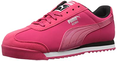 PUMA Women's Roma Deep Summer Wn's-w Classic Style Sneaker, Rose Red/Rose
