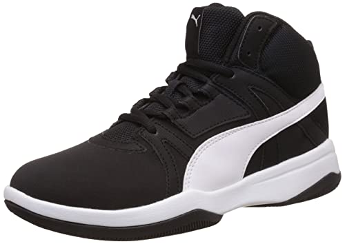 2ae7fa6c060a4b Puma Men s Puma Rebound Street Evo Sl Puma Black and Puma White Sneakers -  10 UK