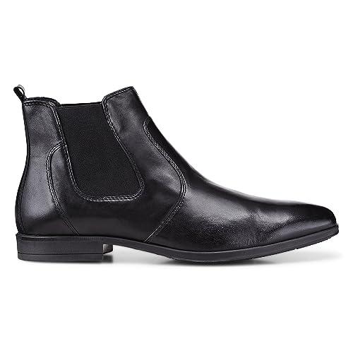 12f3cd9ecbffa2 DRIEVHOLT Herren Herren Chelsea-Boots aus Leder