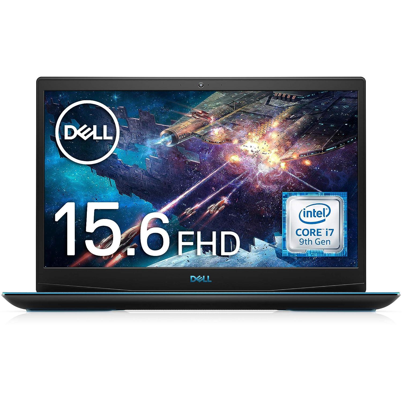 Dell ゲーミングノートパソコン G3 15 3590 Core i7 ブラック 20Q23B/Win10/15.6 FHD/16GB/256GB SSD+1TB HDD/GTX1650 サイズ:05) 9th Core i7, GTX1650, 256GB, 16GB