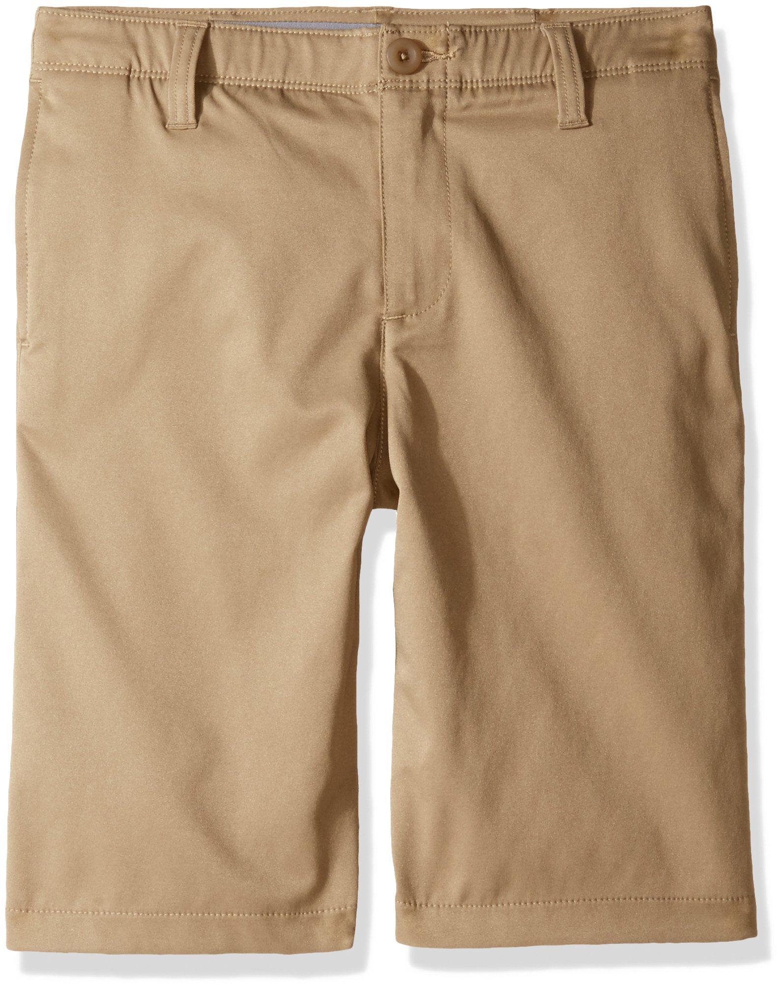 Under Armour Boys' Match Play Polo Shorts,Canvas/Canvas,20 by Under Armour