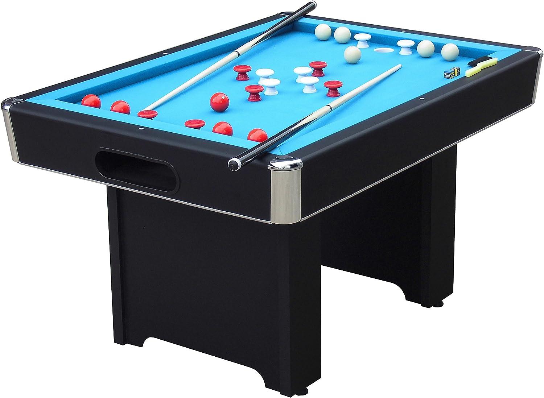Playcraft Hartford Slate Bumper Pool Table - Black