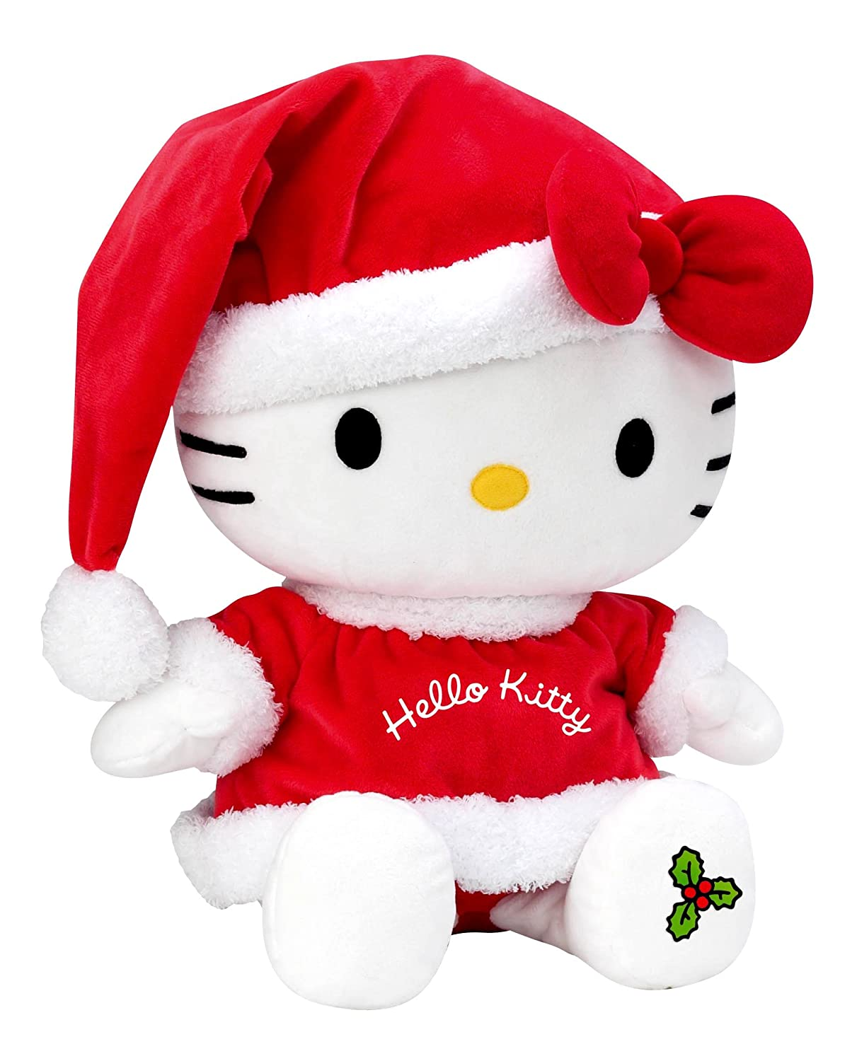 Jemini 21838 - Peluche Noël - Hello Kitty - +/- 40 cm