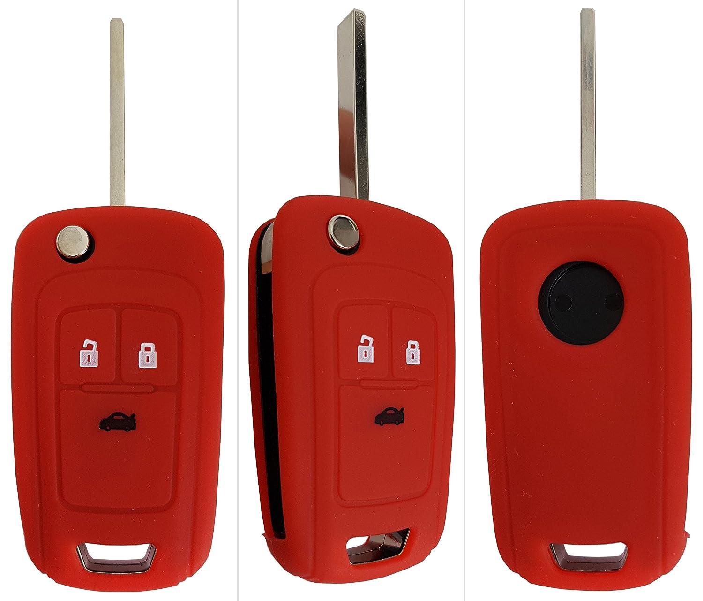 Opel Auto de llave m/óvil Key Cover Case Funda Silicona para Adam Astra Corsa insignia Meriva Zafira CK