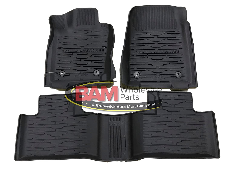 2016-2017 Jeep Grand Cherokee Bucket Style Slush Mat All Weather OEM Mopar 82215577AC Genuine Chrysler