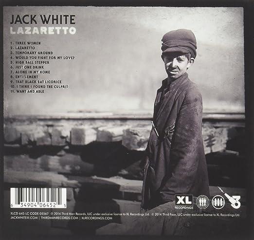 jack white lazaretto