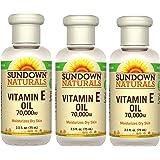 Sundown Naturals Vitamin E Oil 2.50 oz ( Packs of 3)