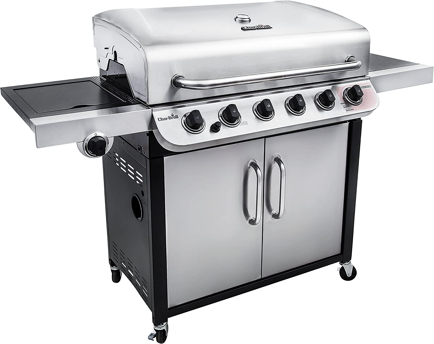 Char-Broil Performance 650 6-Burner Cabinet Liquid Propane Gas Grill review