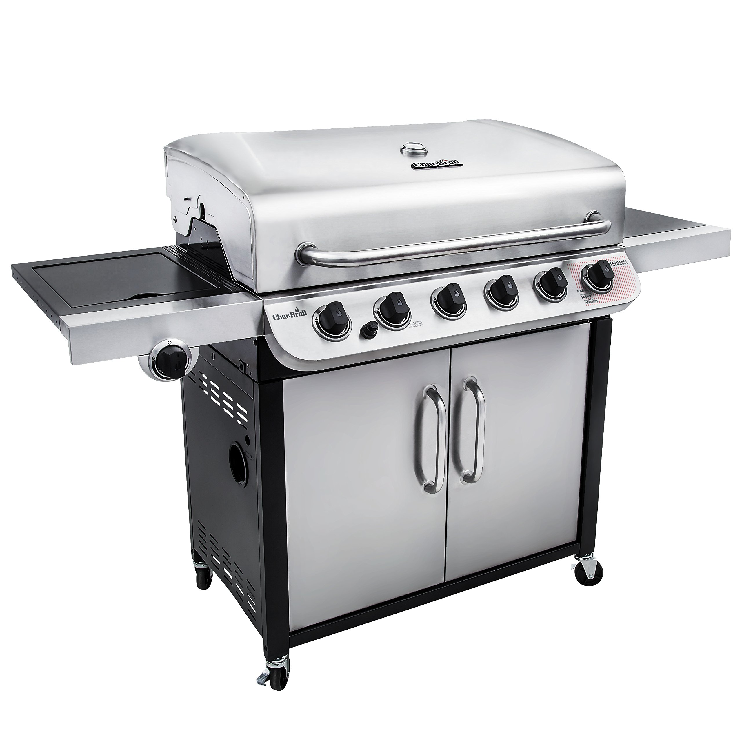 Char-Broil Performance 650 6-Burner Cabinet Gas Grill by Char-Broil