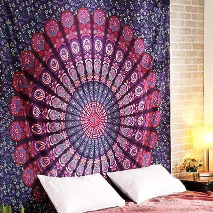 Pared Indian Mandala Wall Hanging hippie Tapestry Decoración de pared para habitación de los Niños Salón