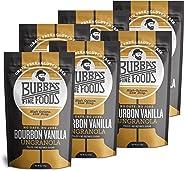 Bubba's Fine Foods Throwback Gluten-Free Granola, Bourbon Vanilla, 6 Ounce (Pack of 6) | Grain-Free, Gluten-Free, Vegan, Paleo, Dairy Free and Certified Non-GMO