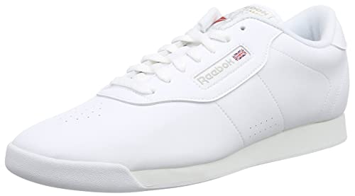 Reebok Princess White White Womens Trainers 7.5 US