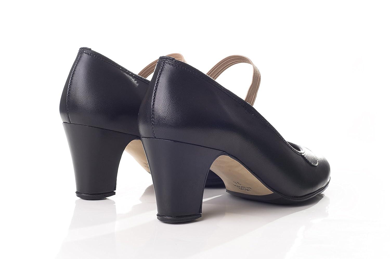 Happy Dance 577051 577051 577051 Amateur Flamencoschuhe aus Leder benagelt 172f4d
