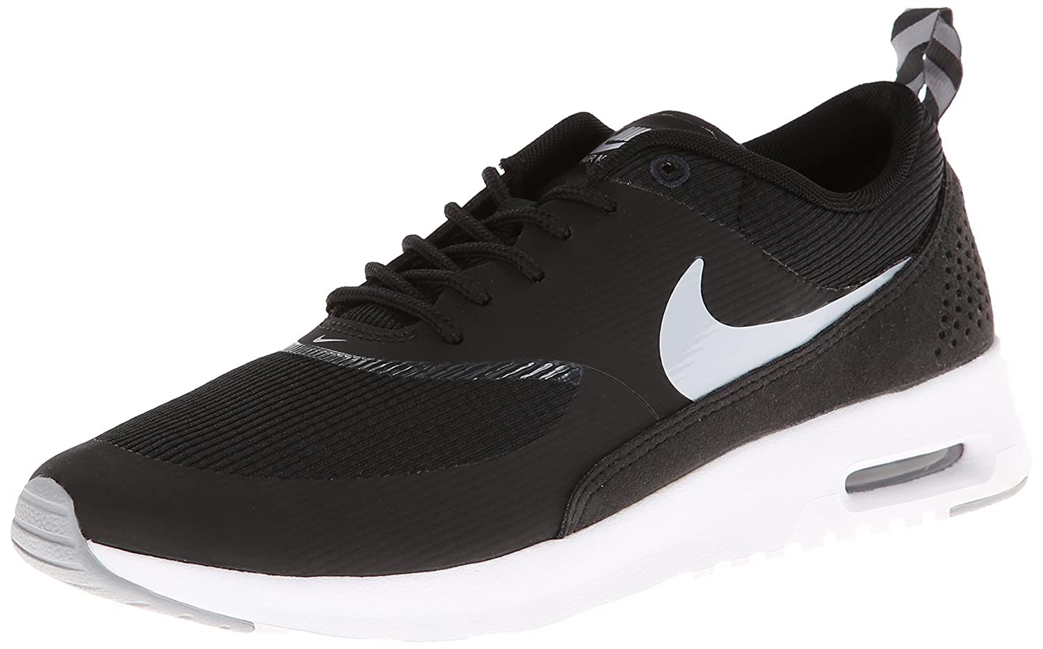 NIKE Women's Air Max Thea Low-Top Sneakers, Black B00H30CADA 8.5 B(M) US|007-black Wolf Grey Anthracite White