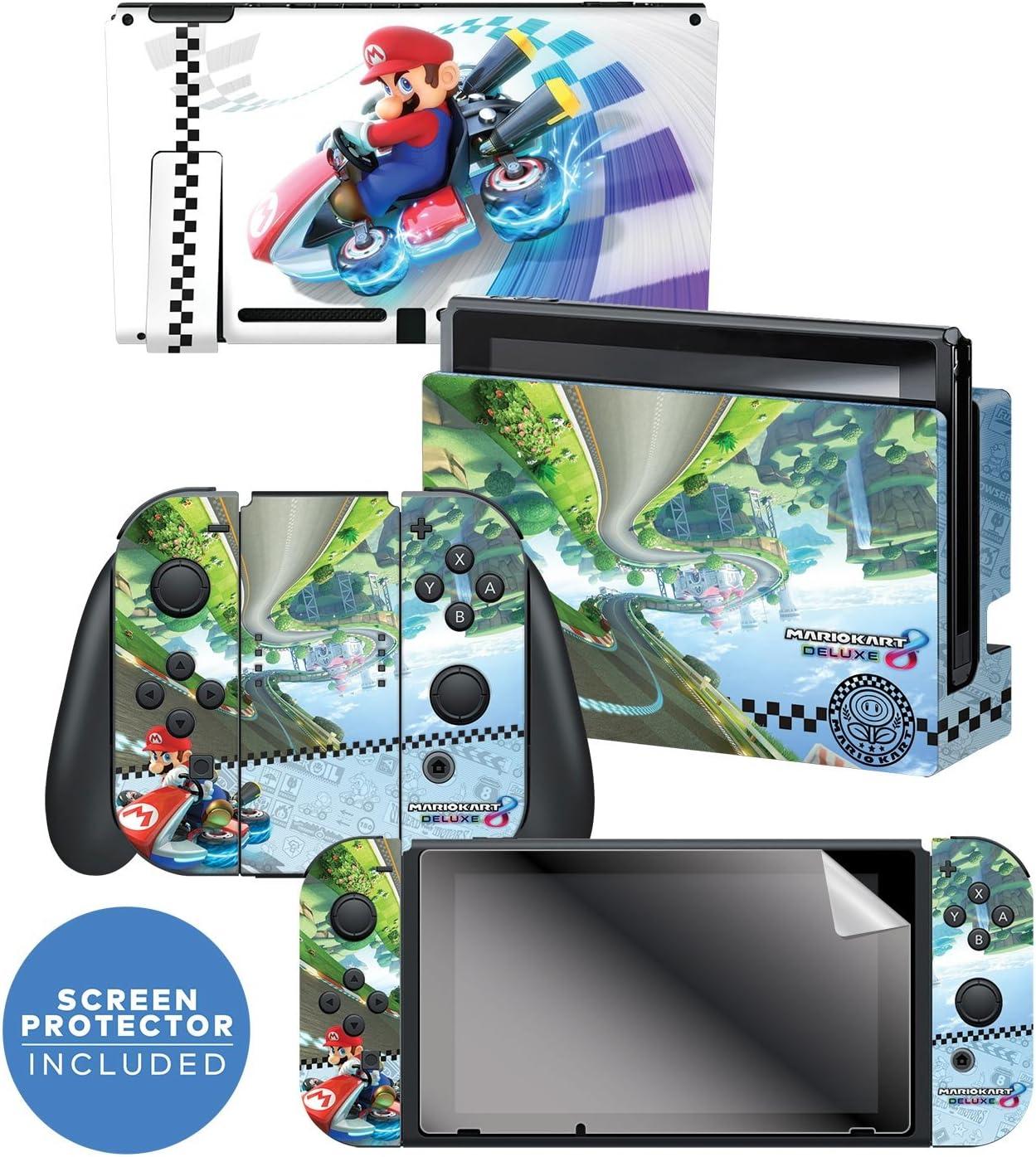 Amazon Com Controller Gear Nintendo Switch Skin Screen