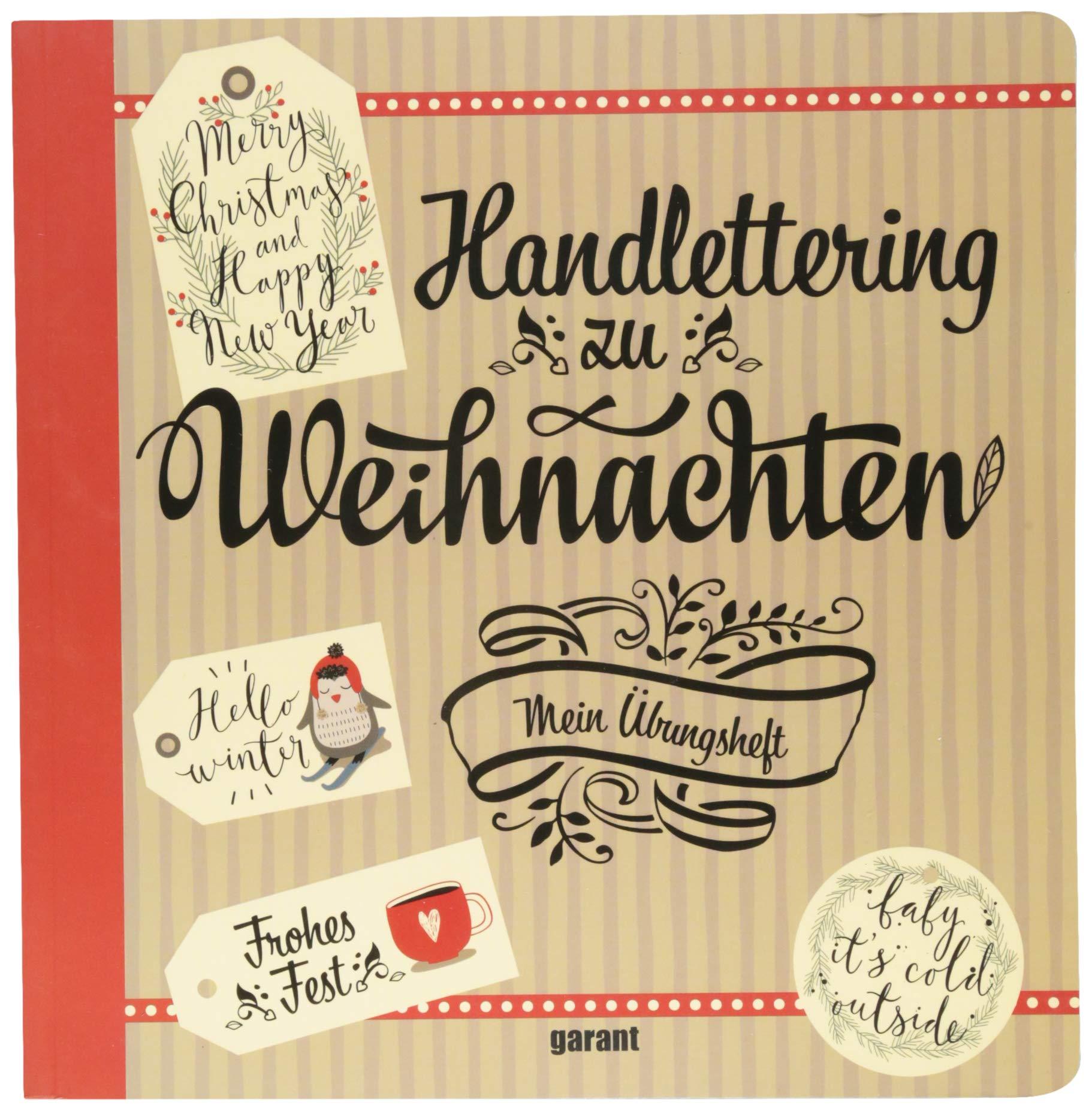 Handlettering Zu Weihnachten Amazonde Garant Verlag Gmbh Bücher
