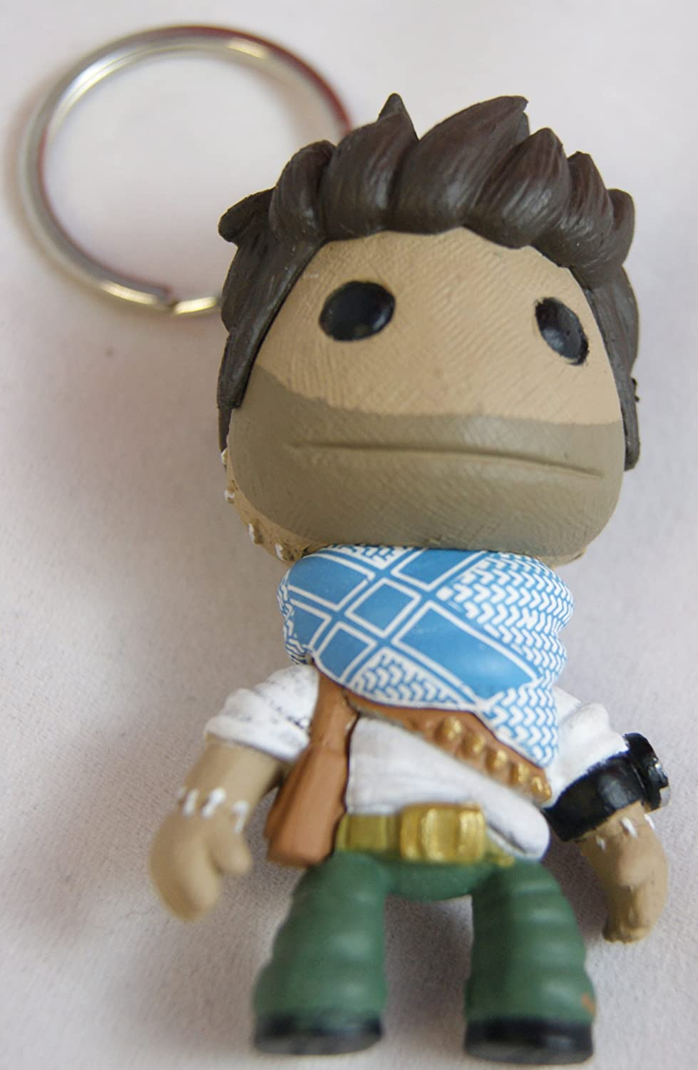 Uncharted 3 Drake LittleBigPlanet SackBoy llavero: Amazon.es ...