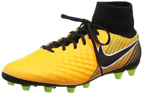more photos c1168 35408 Nike Magista Onda II Dynamic Fit (AG-Pro), Zapatillas de Fútbol para Hombre,  Naranja (Laser Orange Black Volt-White), 45.5 EU  Amazon.es  Zapatos y ...