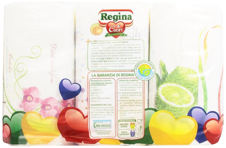 Super Assorbenza Carta Regina 3 veli 3 rotoli