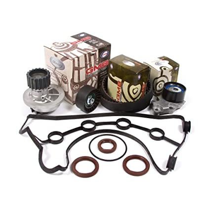 Amazon.com: 04-08 Chevrolet Daewoo 1.6 DOHC 16V Timing Belt Kit GMB Water Pump Valve Cover Gasket: Automotive