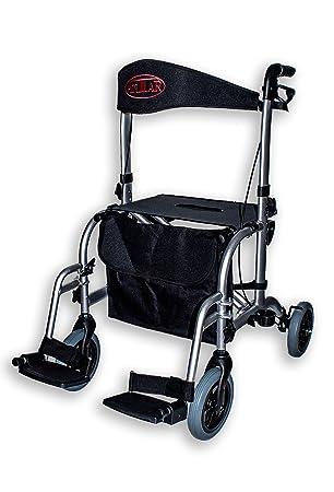 Antar 13709 Premium Hybrid Andador de aluminio y silla en ...