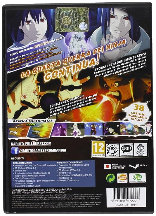 Naruto Shippuden: Ultimate Ninja Storm 3 - Full Burst ...