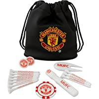 Manchester United FC Official Football Crest Golf Gift Set