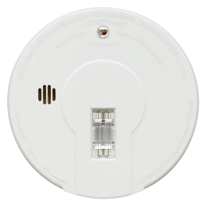 kidde i9080ukc smoke alarm premium general purpose with test light u0026 hush