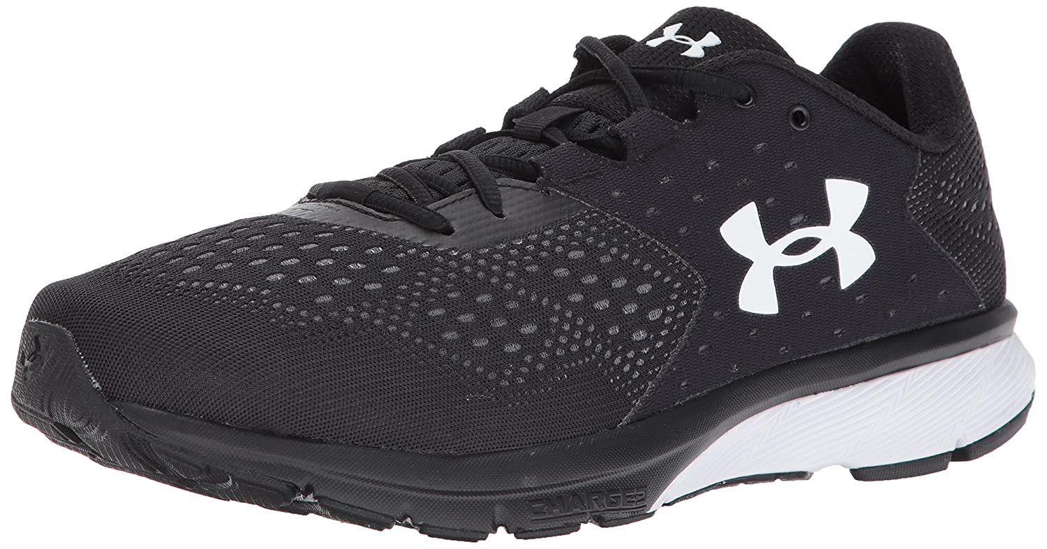 a629a02eb7 Amazon.com | Under Armour Men's Charged Rebel-Wide (2E) Running Shoe  001/Black, 10 US | Road Running