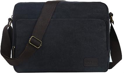 Men Fashion Retro Canvas Messenger Bag Wear Resistance High Capacity Shoulder Bags