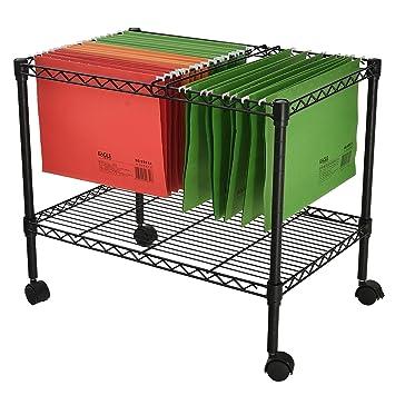 rolling file cart amazon office depot premium tier metal letter size legal folder target