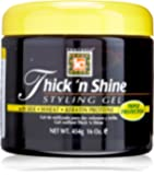 Fantasia Thick N Shine Stay Styling Gel, 16 Ounce