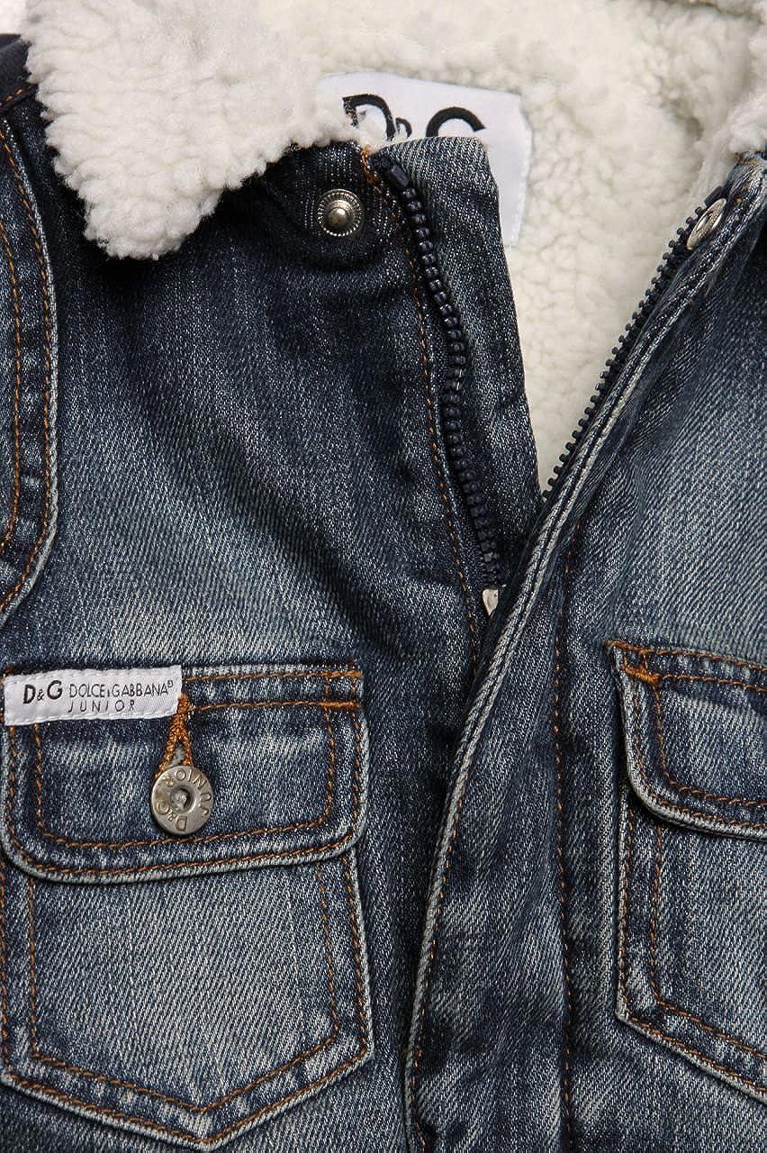 Dolce & Gabbana Junior Chaqueta Vaquera ICE GAME M para niño, Color: Azul Oscuro: Amazon.es: Ropa y accesorios