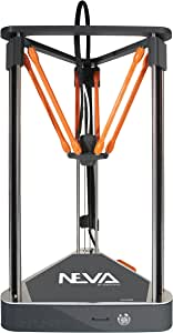 3D printer NEVA by DAGOMA | easy to use, fully assembled, auto calibration, any 3D printing filament 1.75 PLA - the 3D printer for everyone in the family - delta design