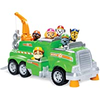 Paw Patrol Rockys Total Team Rescue Recycling Truck with 6 Pups
