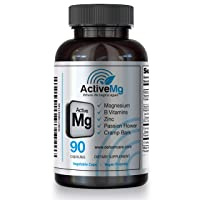 Superior Blend – 3X Absorption Magnesium 300mg with Zinc   Active Mg - Rebrand of Migraine Stop   Immunity Support   for: Migraine Headaches - Anxiety – RLS - Muscle Cramps - PMS – Insomnia   90 Caps