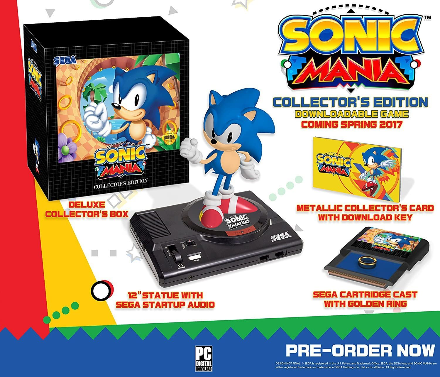 Amazon com: Sonic Mania: Collector's Edition - Xbox One: Video Games
