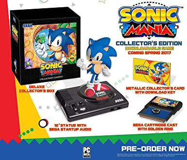 Amazon Com Sonic Mania Collector S Edition Xbox One Video Games