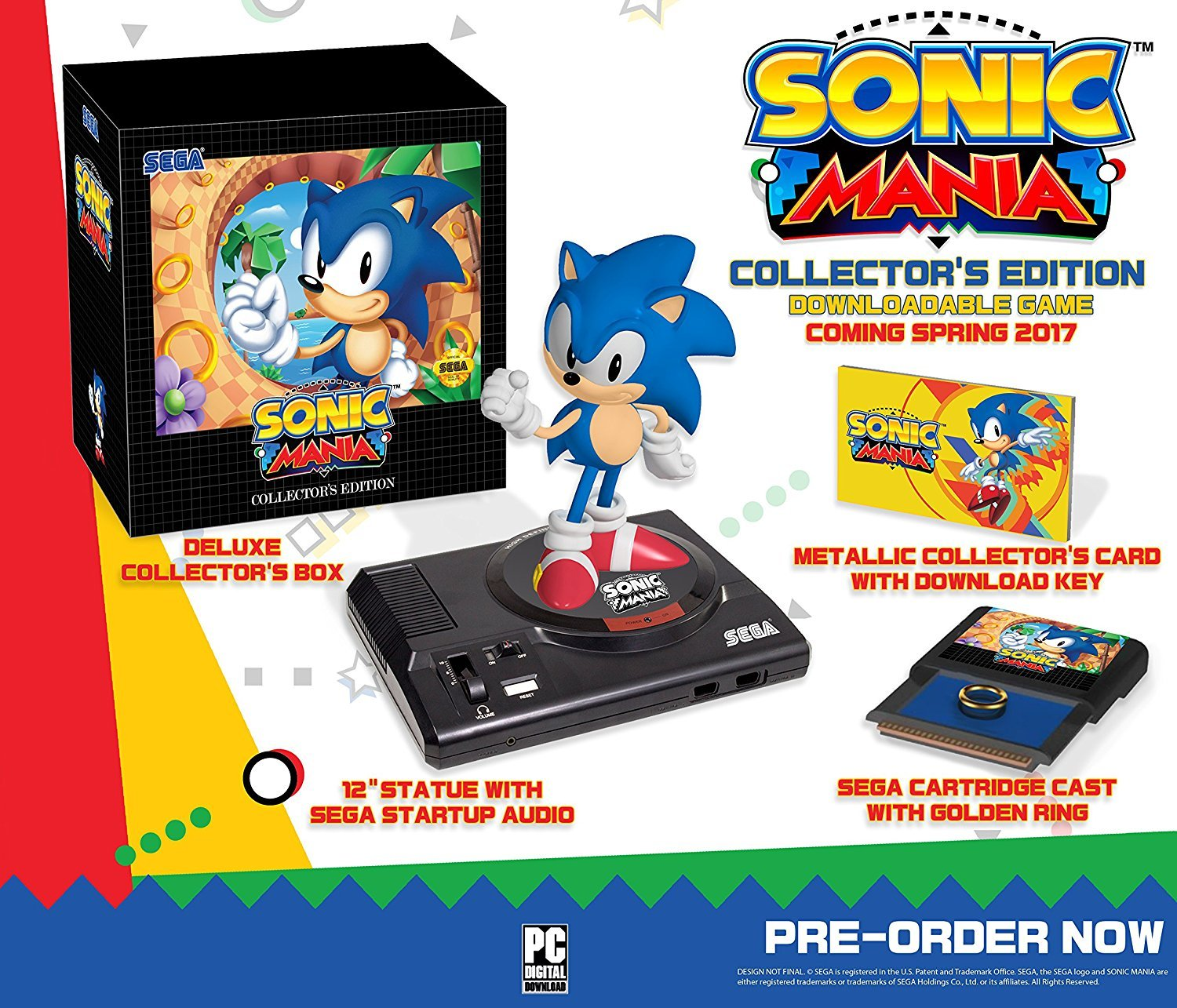 Sonic Mania: Collector's Edition - Nintendo Switch