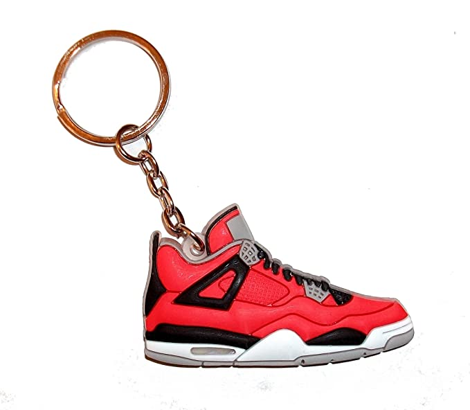 Air Jordan llavero con 4/llavero con muñeca - Toro: Amazon ...