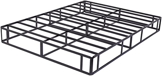 Amazon.com: AmazonBasics Steel Mattress Foundation / Alternative to Traditional Box Spring - 9-Inch, Queen: Kitchen & Dining
